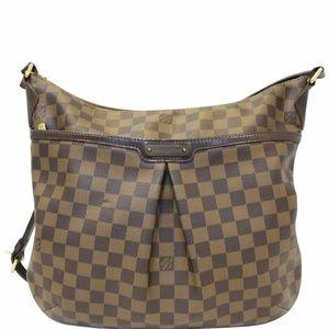 LOUIS VUITTON Bloomsbury GM Damier Ebene Bag